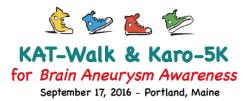 KAT-Walk & Karo-5K for Brain Aneurysm Awareness