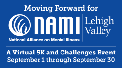 Moving Forward for NAMI LV: 10th Annual (VIRTUAL) 5K & Challenges