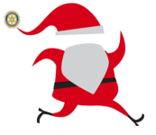 Rotary Santa Run 5K & 1 mile Family Fun Walk