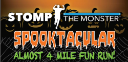 2018 Stomp the Monster Spooktacular Almost 4 Miler