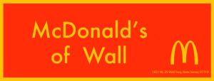 McDonald of Wall
