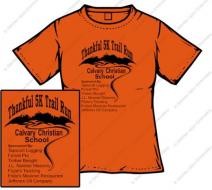 Thankful 5K trail run