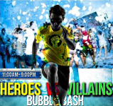 10/31/2015 Heroes Vs Villians 5K Bubble Bash