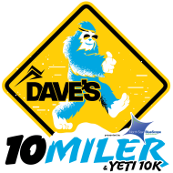 DAVE'S 10-MILER & YETI 10K, presented by North Star BlueScope