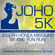 JOHO Missions 5K and Fun Run