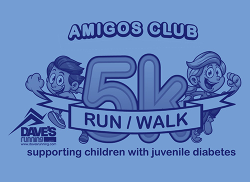 Amigos Club Supporting Children with Juvenile Diabetes 5K Run/Walk