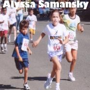 Alyssa Samansky Track Challenge