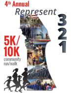 Represent (321) 5K/10K Community Run/Walk