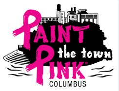 Image result for paint the town pink columbus ga logo