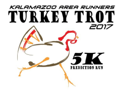 Kalamazoo Area Runners Turkey Trot Time Prediction 5K Run