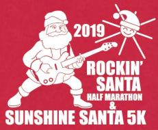 Rock'in Santa Half Marathon & Sunshine Santa 5K - ESM Events