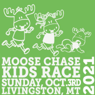 The  13th Annual Moose Chase Kids Race