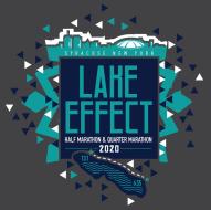 2020 Lake Effect Half Marathon Logo