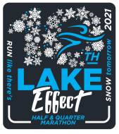 2021 Lake Effect Half Marathon Logo