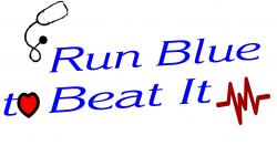 Run Blue To Beat It