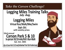 Carson Park 5 & 10/Logging Miles
