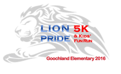 Lion Pride 5k & Kids Fun Run