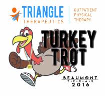 26th Annual Sea Rim Striders' 2016 Triangle Therapeutics Turkey Trot 5K/10K/KidsK