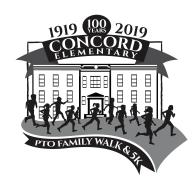 Concord PTO Centenntial Family Fun Walk & 5K