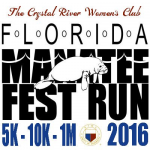 Florida Manatee Fest Run 10K/5K/1 Mile Walk