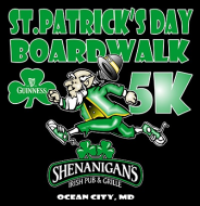 OCMD ST. PATRICK'S DAY BOARDWALK 5K 2018