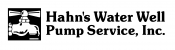 Hahn's Water Well Pump Service