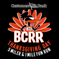 Customers Bank BCRR Thanksgiving Day 5 Miler & One Mile Fun Run