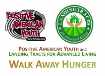 Positive American Youth and Landing Tracts for Advanced Living - Walk Away Hunger  5k Walk/Run