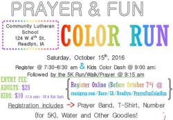Prayer & Fun Color Run