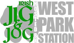Irish Jig & Jog 5K hosted by West Park Station