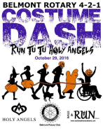 Belmont Rotary 4-2-1 Costume Dash - Run Tu Tu Holy Angels