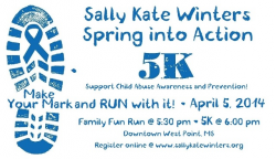 5th Annual Spring Into Action 5K and 1 Mile Family Fun Run