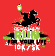 MACQUEEN'S RUN FOR YOUR LIFE