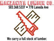 Manzanita Lumber Company