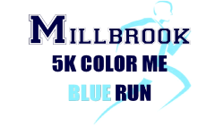 Millbrook 5k Color Me Blue Obstacle Run