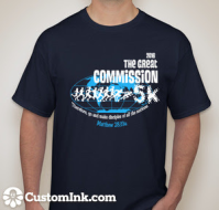 The Great Commission 5k