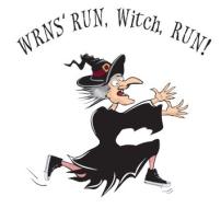 WRNS Run, Witch, Run!