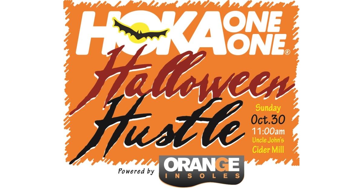hoka halloween hustle 5k timed event