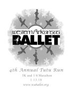 Western Arkansas Ballet's Tutu Run