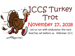 2018 ICCS Turkey Trot