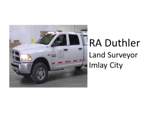 RA Duthler Land Surveyor
