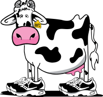 VIRTUAL Running With The Cows Half Marathon & 5K