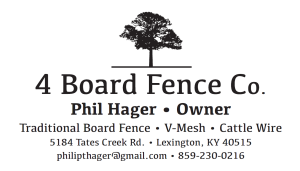 4 Board Fence Co.
