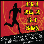 Stony Creek Marathon, Half-Marathon, 5k & 50k