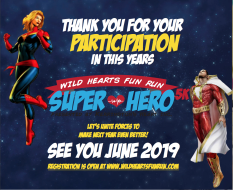 Wild Hearts Superhero 10K, 5K, and Fun Run