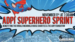 Alpha Delta Pi's 11th Annual Superhero Sprint