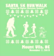 Santa 5K Run/Walk for Hunger & Official NC Bigfoot Christmas Reunion