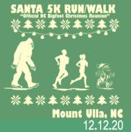 Santa's 5K Run/Walk - Official NC Bigfoot Christmas Reunion