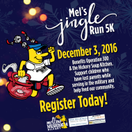 Mel's Jingle Run 5K