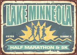 Lake Minneola Half Marathon and 5K